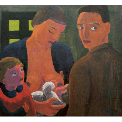 Young Family, 1931 - Werner Berg