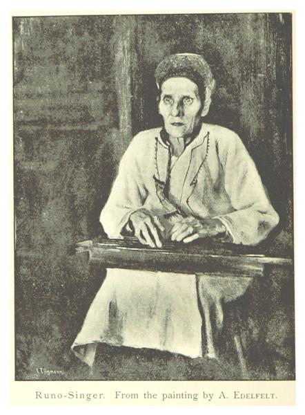 Runo Singer, 1894 - Albert Edelfelt