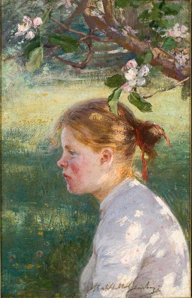 Under Äppelträdet, 1898 - Elin Danielson-Gambogi