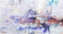 A168b  ABSTRACT LANDSCAPE - Alexis Digart