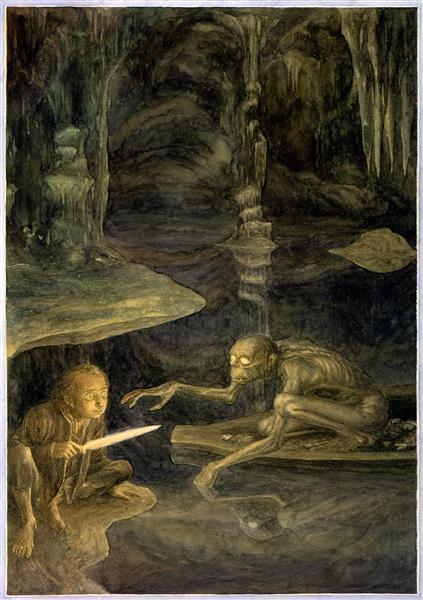 Riddles in the Dark - Alan Lee