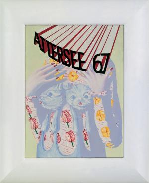 MOPSBÜSTENHALTER, 1967 - Christian Ludwig Attersee