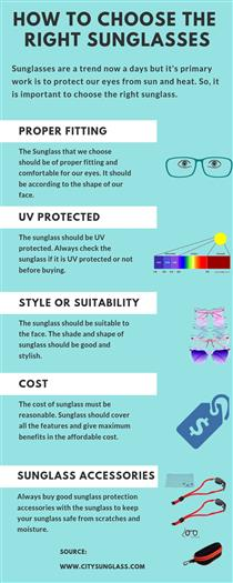 How to choose the best sunglasses - James Lima