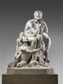 Ugolino and His Sons - Jean-Baptiste Carpeaux