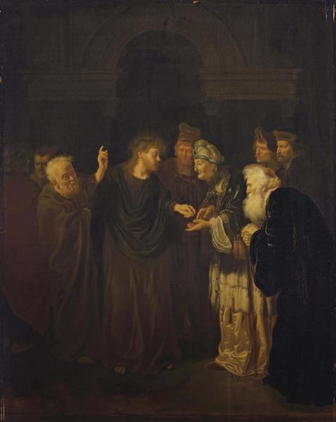 The Tribute Money, 1640 - Salomon Koninck