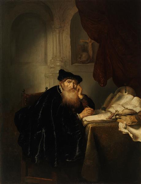 A Philosopher, 1635 - Solomon Koninck
