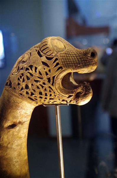 Animal Head Post - Північне мистецтво