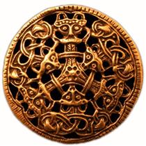 Brooch - Viking art
