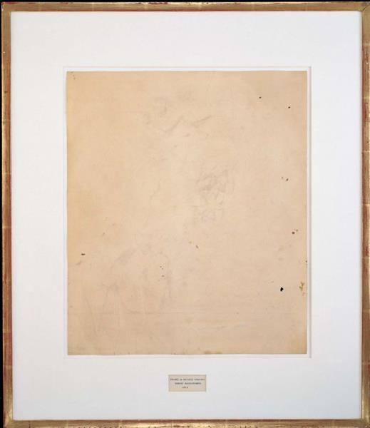 Erased de Kooning, 1953 - Роберт Раушенберг