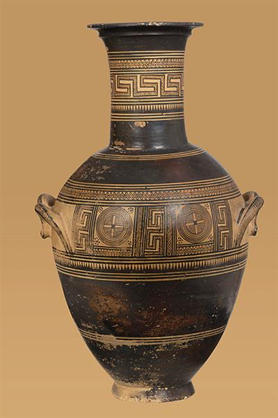 Attic Middle Geometric Amphora from Kerameikos, c.800 BC - Ancient Greek Pottery