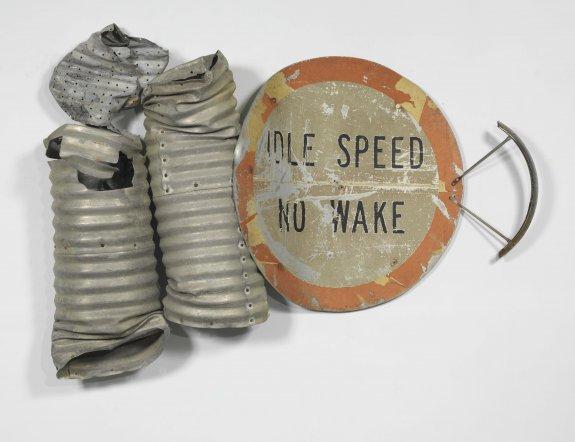 No Wake Glut, 1986 - Robert Rauschenberg