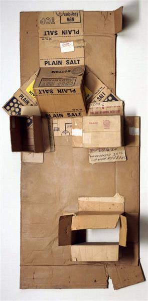Plain Salt (Cardboard), 1971 - Robert Rauschenberg