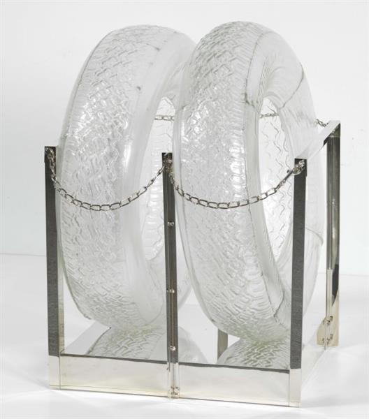 Untitled [glass Tires], 1997 - Robert Rauschenberg