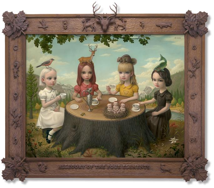 Allegory of the Four Elements, 2006 - Mark Ryden