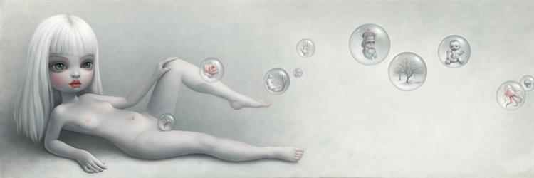 Sophia's Bubbles, 2008 - Mark Ryden
