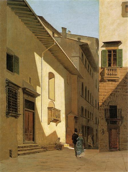 Santa Maria De' Bardi, 1870 - Telemaco Signorini