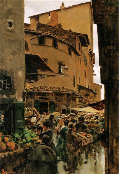 Via Calimala, 1899 - Telemaco Signorini