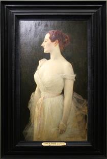 Madame Gautreau - Gustave Courtois