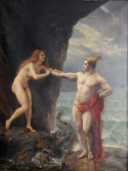 Persée Délivrant Andromède - Gustave-Claude-Etienne Courtois