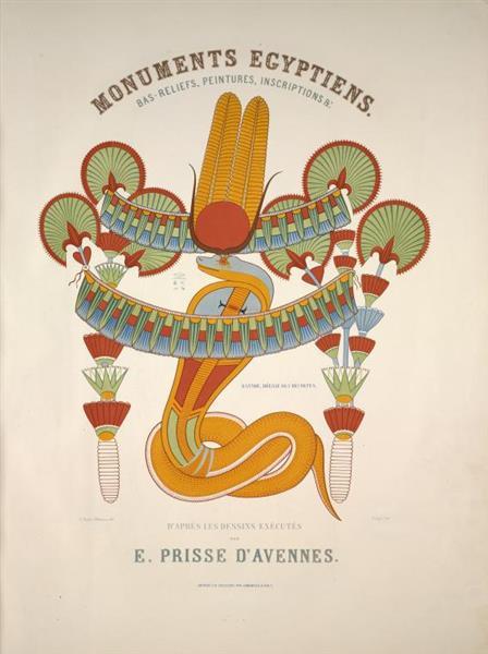 Rannou, déesse des récoltes, 1847 - Émile Prisse d'Avesnes
