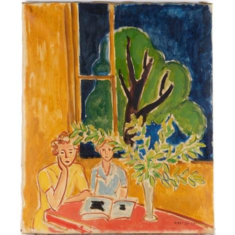 Deux Jeune Filles, 1947 - Henri Matisse