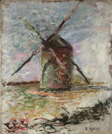 Moulin, 1897 - Henri Matisse