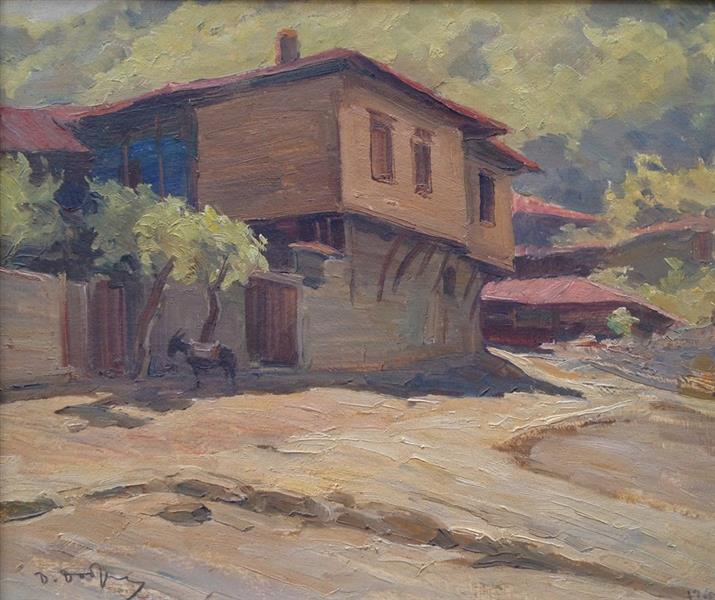 Old Houses, 1960 - Dobri Dobrev