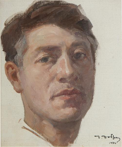 Self-Portrait, 1934 - Dobri Dobrev