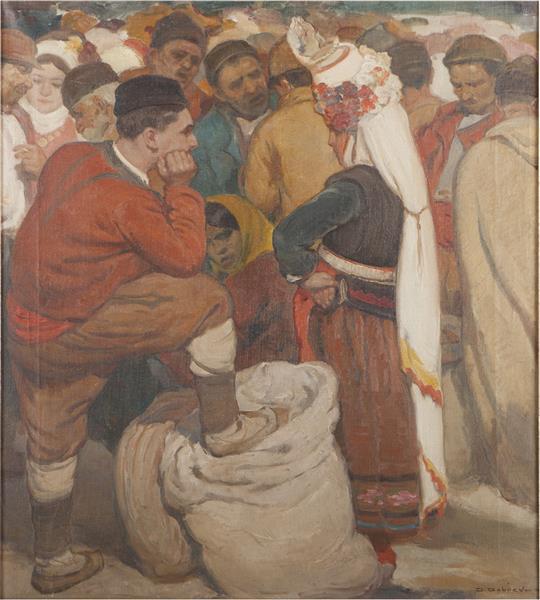 Marketplace, 1932 - Dobri Dobrev