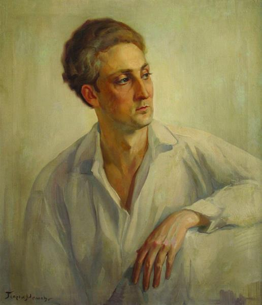 Portrait of Georgi Gerasimov - Georgi Mashev
