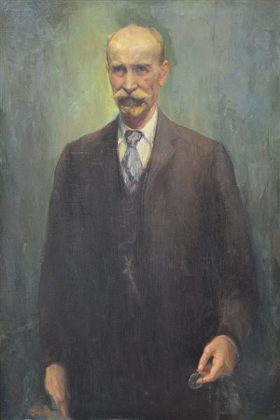 Portrait of Doctor Nikola Lambrev, 1944 - Georgi Mashev