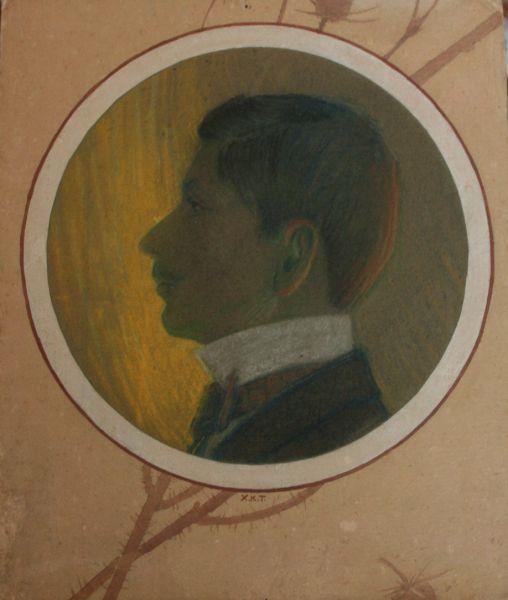 Portrait of a Man - Haralampi Tachev