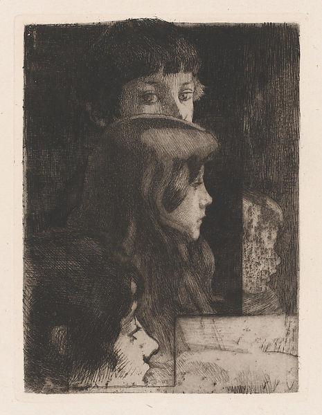 Family, 1890 - Paul-Albert Besnard