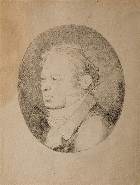 Retrato De Goya, 1828 - Rosario Weiss Zorrilla