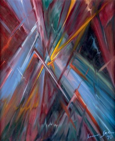 Colorful Flashes, 1970 - Konrad Zuse
