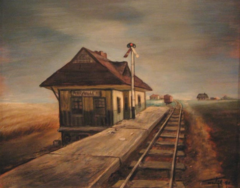 Perryville Station, 1940 - Martyl Langsdorf