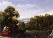 Latona and the Lycian Peasants - Adam Elsheimer