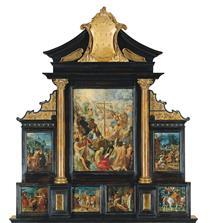 The Altarpiece of the Holy Cross - Adam Elsheimer