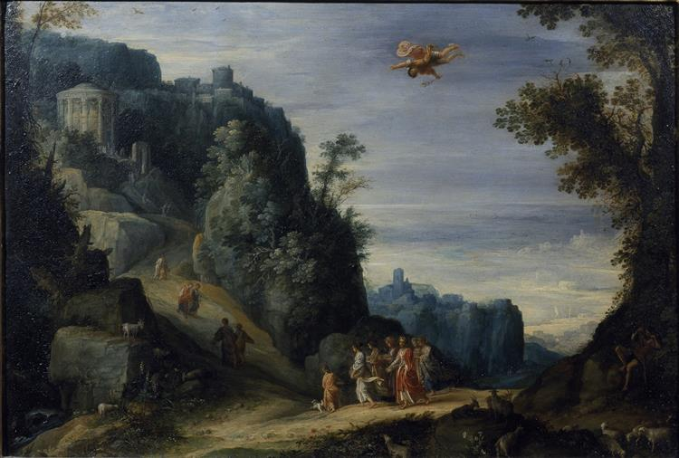 Mercury  and  Herse, 1605 - Adam Elsheimer