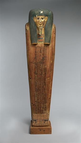 Coffin of Nesmin, c.200 - c.30 BC - Ancient Egyptian Painting