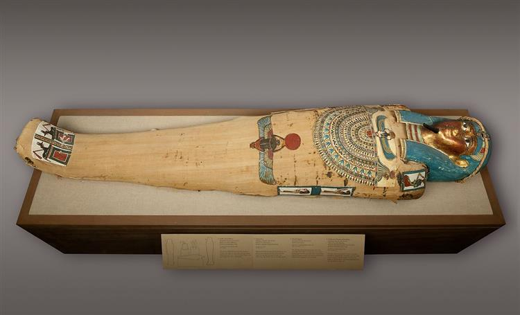 Mummy of Irtirutja, c.332 - c.250 BC - Ancient Egyptian Painting