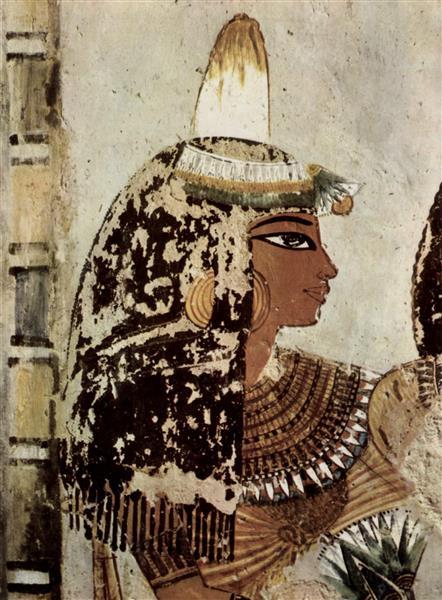 Portrait of a Lady, c.1422 - c.1411 BC - Ancient Egypt