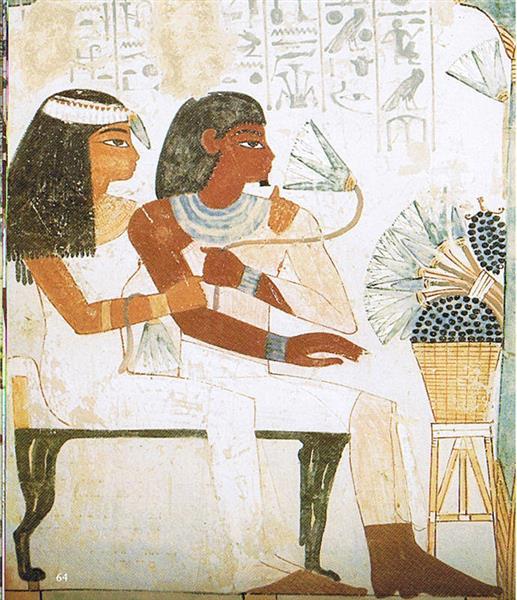 Nacht Und Taui, c.1390 BC - Ancient Egypt