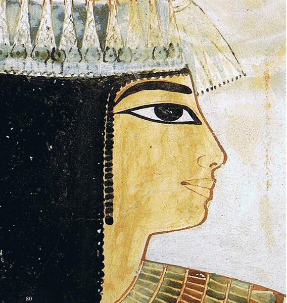 Kopf Der Dame Taui, c.1390 BC - Ancient Egypt