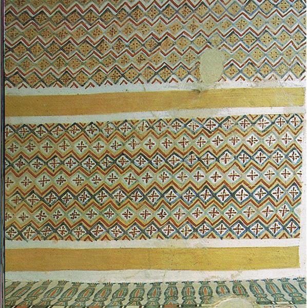 Grabornamentik, c.1390 BC - Ancient Egyptian Painting