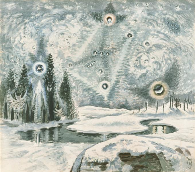Orion in Winter - Charles E. Burchfield