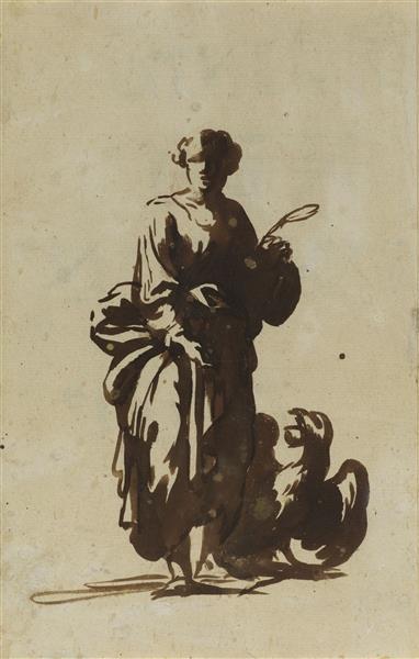 Saint John the Evangelist - Adam Elsheimer