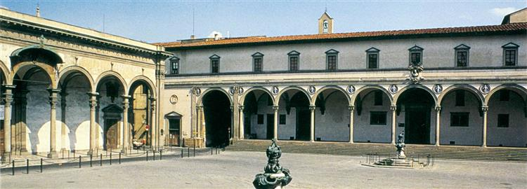 Ospedale Degli Innocenti (Florence), 1419 - 1426 - Filippo Brunelleschi