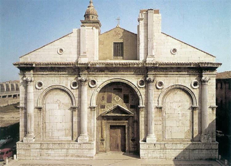Tempio Malatestiano (Rimini), 1450 - Leon Battista Alberti