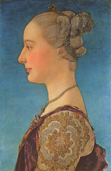 Portrait of a Woman - Antonio del Pollaiolo